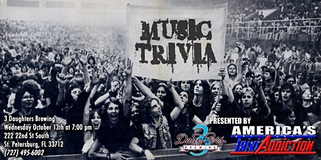 MUSIC THEMED TRIVIA-ONE TICKET PER TEAM tickets