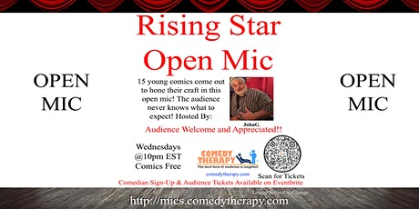 The Rising Star Open Mic - April 28th tickets