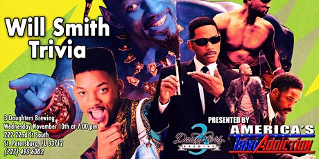 WILL SMITH THEMED TRIVIA-ONE TICKET PER TEAM tickets