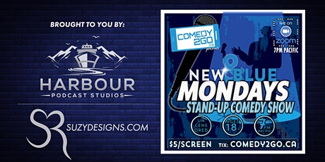 New & Blue Mondays | Live Online Comedy Show tickets