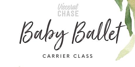 Baby Ballet - Barre Carrier Class tickets