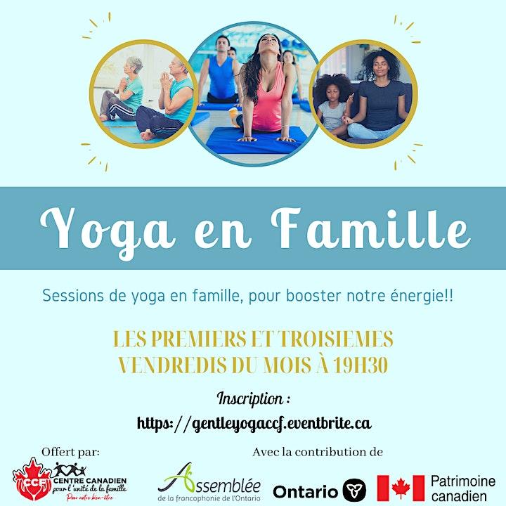 Image de Sessions de yoga en famille - C'est GRATUIT!