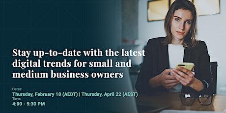 Digital Trends for SMEs (Free Live Webinar) tickets