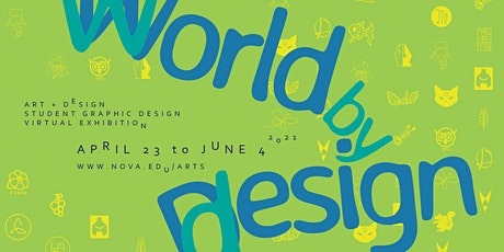 Student Graphic Design Virtual Exhibition 2021 Opening Reception tickets