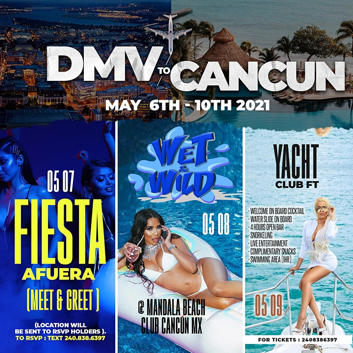 DMV TO CANCUN INVASION image