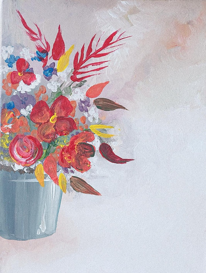 Mothers Day Sip and Paint Soirée image