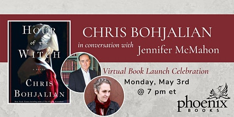Chris Bohjalian in conversation with Jennifer McMahon tickets