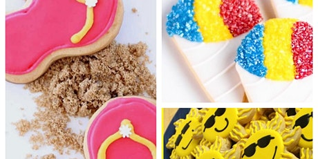Kids Virtual Cookie Decorating Party and Cookie Kit tickets