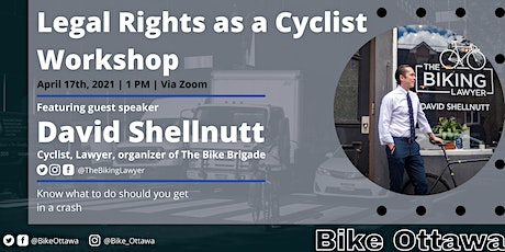 Legal Rights as a Cyclist Workshop tickets