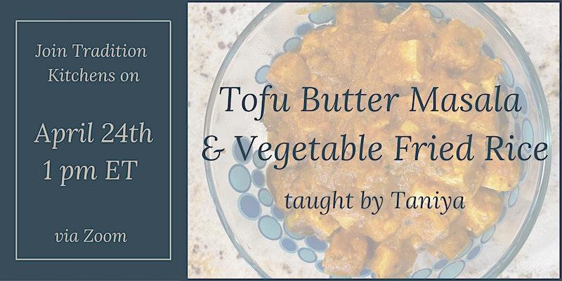 Tofu Butter Masala