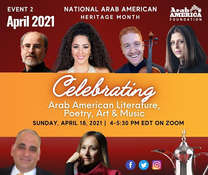 National Arab American Heritage Month image
