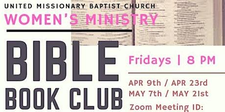 WOMEN'S BIBLE BOOK CLUB tickets