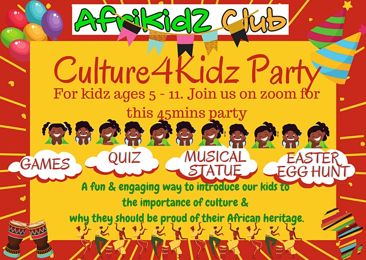 Easter Culture 4 KidZ Party image