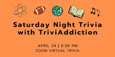 Saturday Night Trivia - All Categories tickets