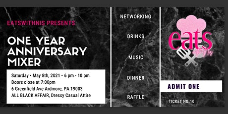 Eats with Nis 1YR Anniversary Party tickets