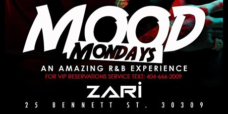 MOOD MONDAYS | THE BIGGEST R&B VIBE IN ATLANTA WITH #GQEVENT tickets