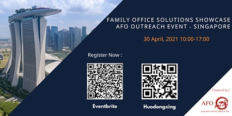 2021 Family Office Solutions Showcase – AFO Singapore Outreach tickets