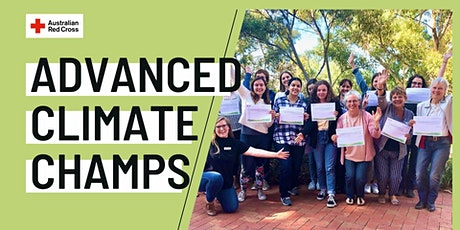 Climate Ready Communities Advanced Training for Champions tickets
