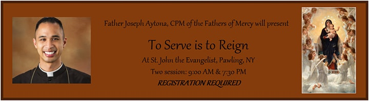 Parish Mission: To Serve is to Reign - 7:30 PM SESSION image
