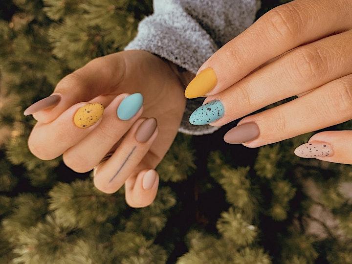 Permanent Nail Polish Gel - Virtual Live Nails Art with Beauty Artist image
