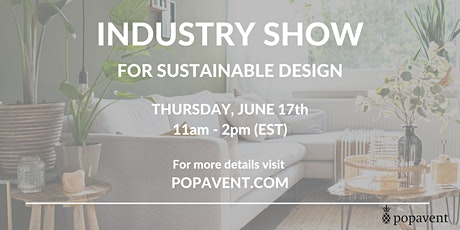 Industry Show: Sustainable Design tickets