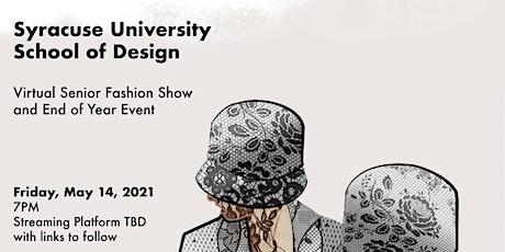 Syracuse University Senior Fashion Design Show tickets