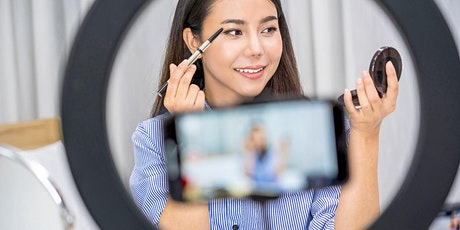 Makeup Class for Beginners With or Without Makeup Kit - Virtual Lesson tickets