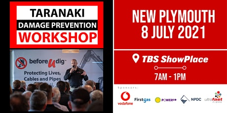 Taranaki Damage Prevention Workshop 2021| Free tickets available tickets