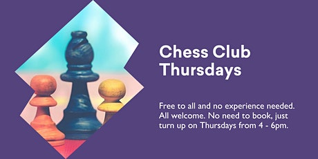 Chess Club Thursdays @ Kingston Library tickets