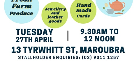 Maroubra Market Day tickets