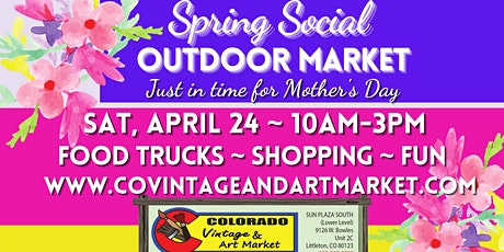 Spring Social Outdoor Market tickets
