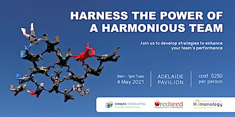 Harness the Power of a Harmonious  Team tickets