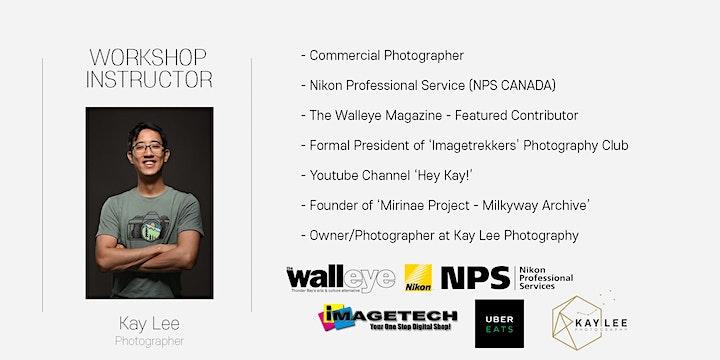 Kay Lee Photography Virtual Workshop - 01. Photography Basics(April 25th) image