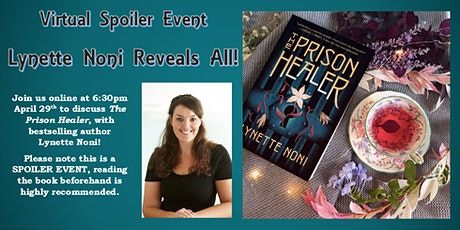 The Prison  Healer Online SPOILER  Event - Lynette Noni tickets