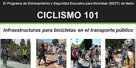 Ciclismo 101: Infraestructuras para bicicletas en el transporte público entradas
