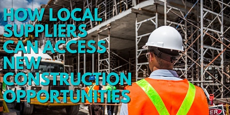 How Local Construction Industry Suppliers can gain access to New Projects. tickets