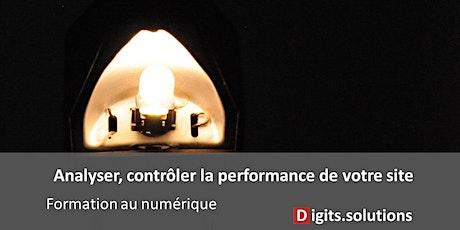 Analyser et controler la performance de votre site internet billets
