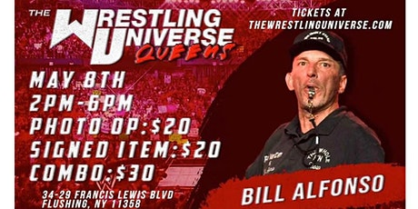 ECW BILL ALFONSO  THE WRESTLING UNIVERSE IN-STORE APPEARANCE tickets