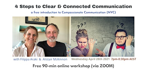 4 Steps to Clear & Connected Communication with Compassionate Communication tickets