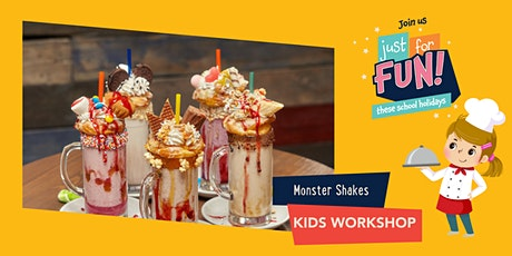 Just For Fun: Monster Shakes Kids Workshop tickets