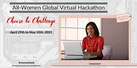 All-Women Hackathon - Choose to Challenge biglietti