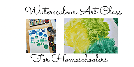 Watercolour Art Class for 5-9 year olds tickets