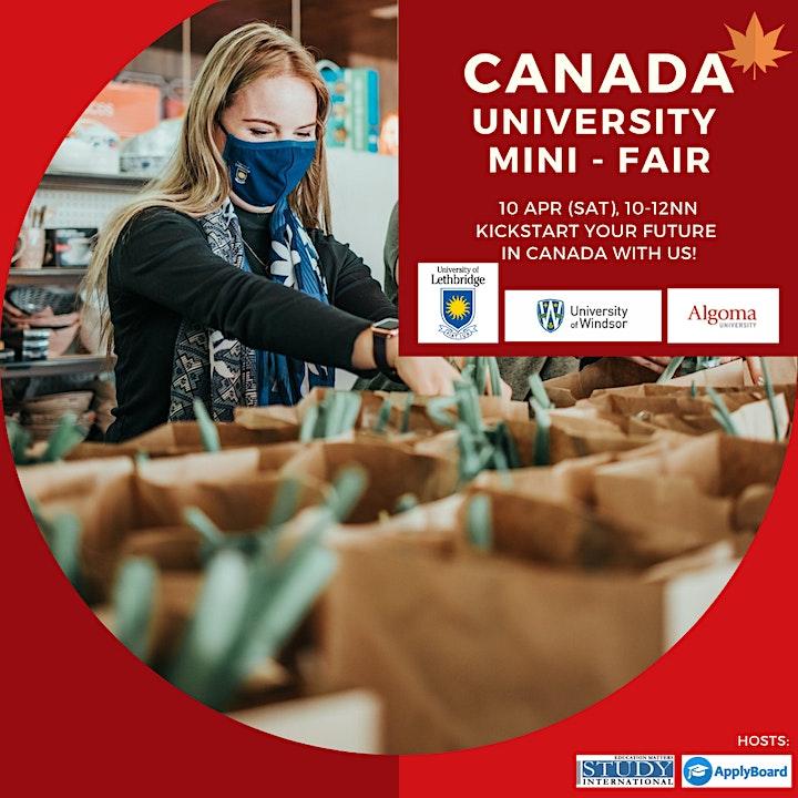 Canada University Mini-Fair image