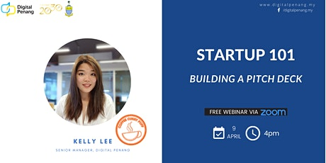 STARTUP 101 : Building a pitch deck tickets