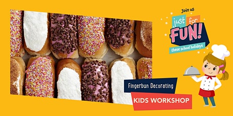 Just For Fun: Fingerbun Decoration Kids Workshop tickets