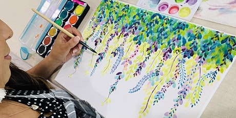 Sip & Paint  Watercolour Vines tickets