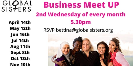 Global Sisters - Business Womxn Meet Up - Monthly tickets