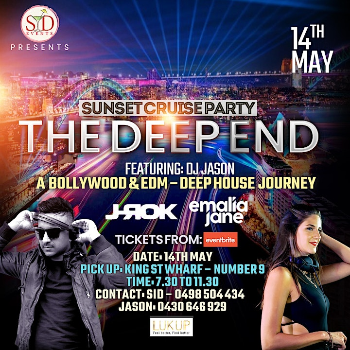 Bollywood Cruise Party - THE DEEP END image