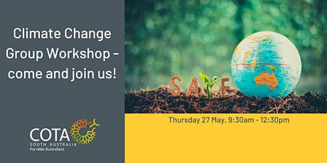 Climate Change Group Workshop – come and join us! tickets