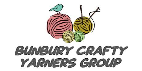 Bunbury Crafty Yarners Group - (Weekly) tickets